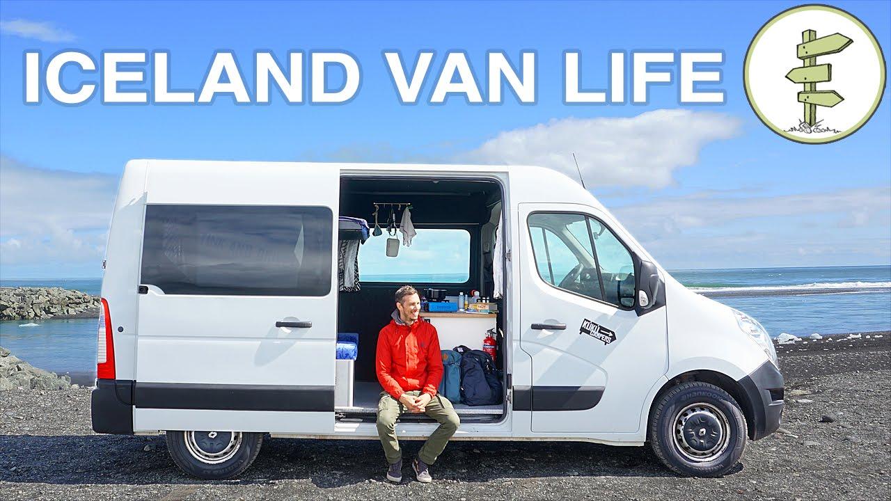 Van Life In Iceland Awesome Sprinter Camper Van Tour