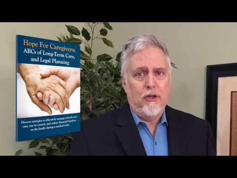 Hope for Caregivers Guide by East Cobb Elder Law Attorney Steve Worrall