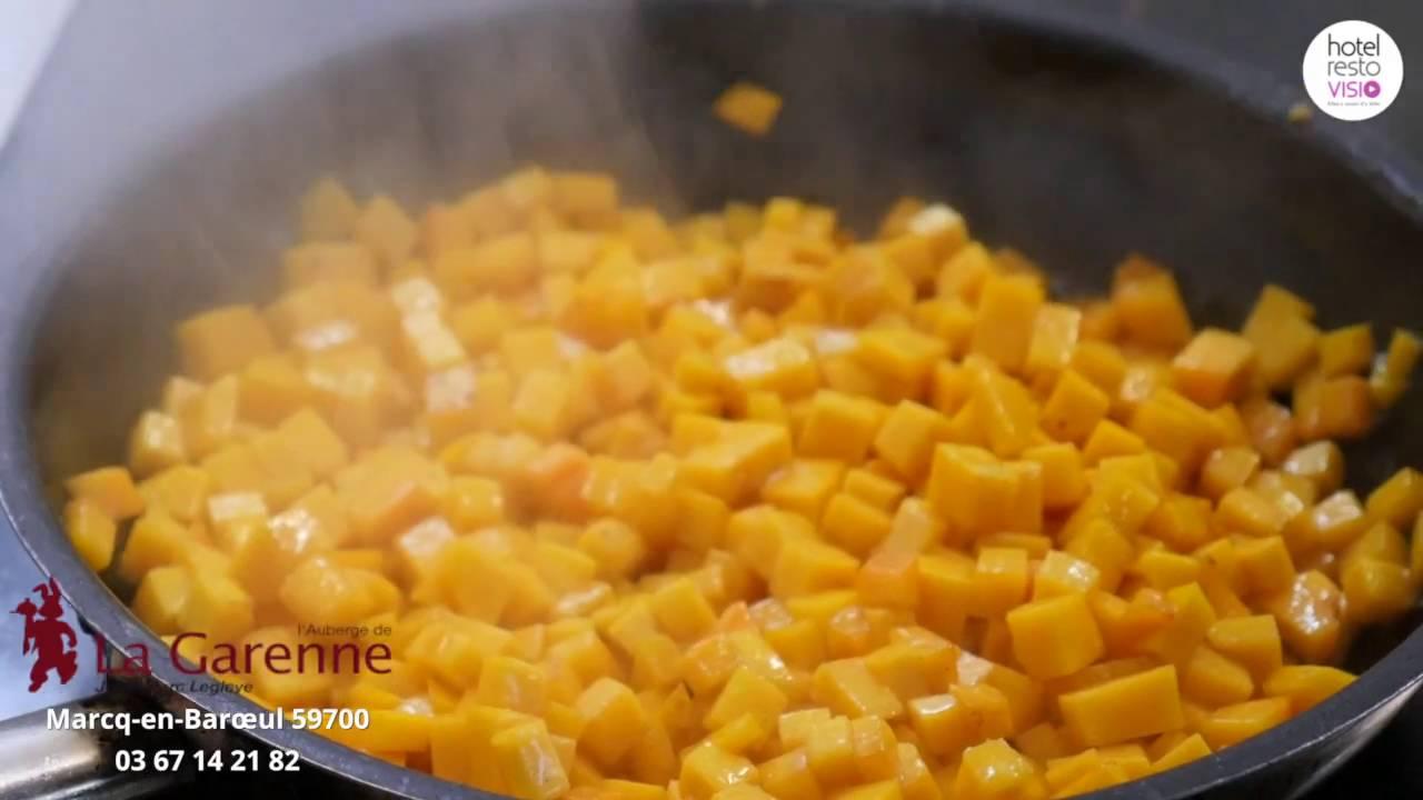 Recette butternut noix de saint jacques