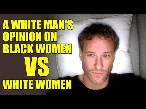 are black women attracted to white men