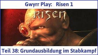 Risen 1 Teil 38: Grundausbildung im Stabkampf - Let's Play