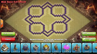 Clash of Clans - Town Hall 8 O+ Mini Trophy/Clan War Base + Speed Build 2014 w/ 4th Mortar