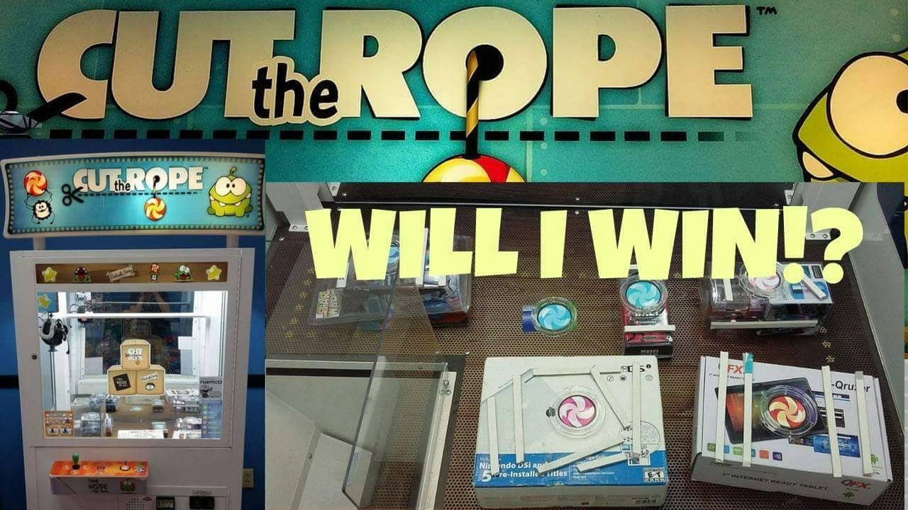 Cut the Rope Arcade Game - First WIN! | - YouTube