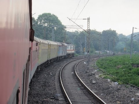 High Speed Station Skips from Sealdah New Delhi Duronto Express: Full Compilation