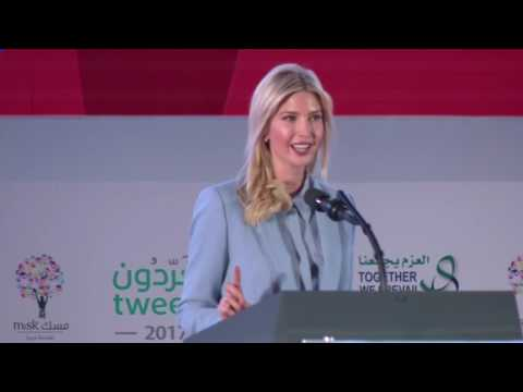 Ivanka Trump jokes that she might 'borrow' contractors from Saudi Arabia