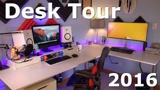 BEST Desk Tour Late 2016 - JrTech