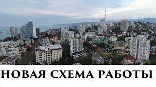Новая схема работы Сочи-Москва, Москва-Сочи
