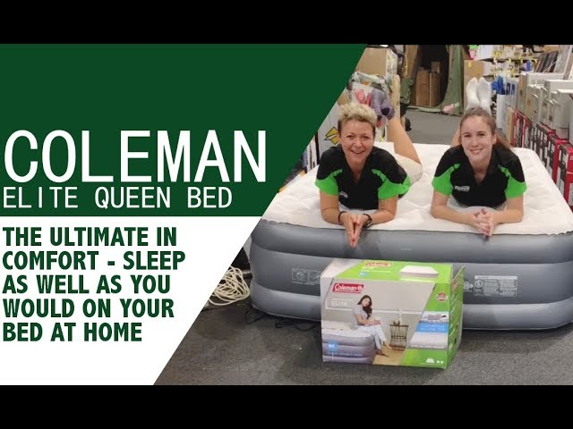 Coleman Supportrest Elite Pillowtop Queen Air Bed Review Youtube
