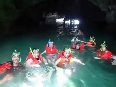 Inside Quirino Cave - Hundred Islands