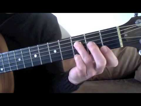 Basic Guitar Chords - F Major Chord and F Minor Chord Postions - YouTube