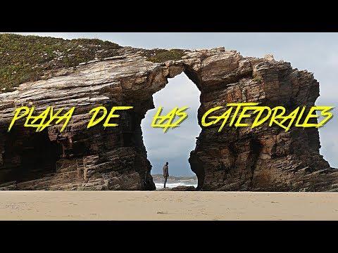 🇪🇸-el-famoso-arco-&-playa-de-las-catedrales---galicia---espaÑa-#46---2017---turismo,-documental