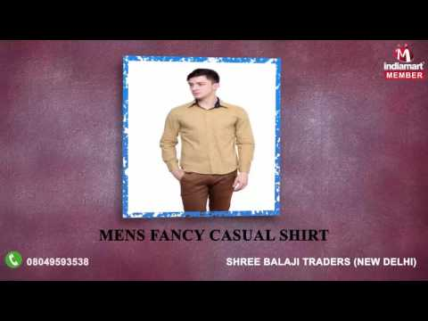 Mens Formal Shirt By Shree Balaji Traders, New Delhi