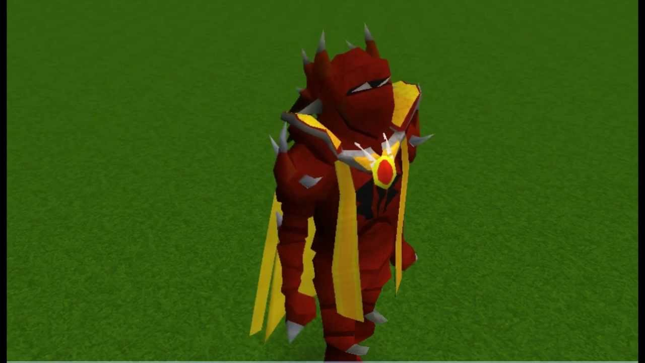 Runescape Close Looks At Old Dragon Armor Youtube