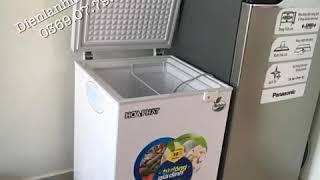 Tủ đông mini hoà phát Hcf 106S1N 107 lít hàng chính hãng