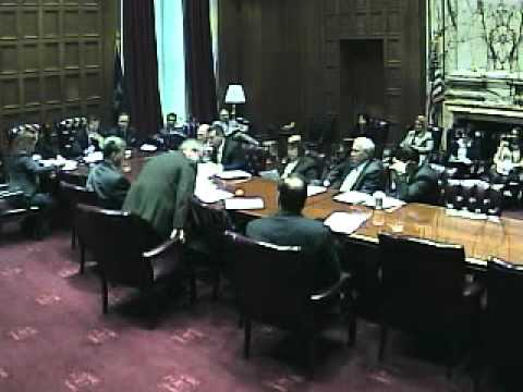 New York State Senate Committee on Education 1/10/2012