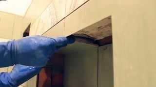 Установка ванны.Фальш панель для ванны своими руками (Часть 3). Финал(Как облицевать фальш панель ванны в деталях.Как правильно положить кафельную плитку под ванной.Укладка..., 2014-08-12T06:00:10.000Z)