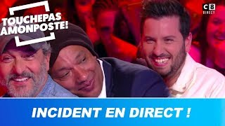 Incident en direct, grosse panique dans le public de TPMP