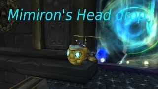 Mimiron's Head Drop / October 2018 /  Lockout sharing.
