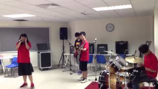 [DIDO]Taiwan school rock out audition-when your gone