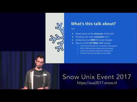 SUE 2017 - Reverse Engineering Embedded ARM Devices - by pancake