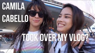 CAMILA CABELLO TOOK OVER MY VLOG?
