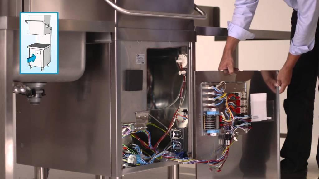 CLASSEQ Installatie doorschuifvaatwasmachine met