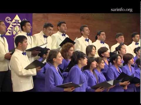 Государственный хор Нагорно-Карабахской Республики дал концерт в Москве
