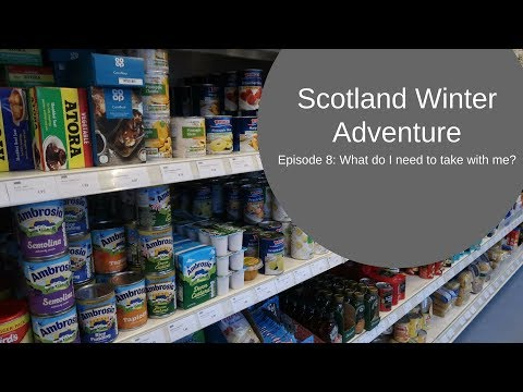 What do I need to take to the Outer Hebrides? Scotland Winter Adventure Episode 8