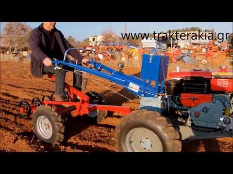 MOTOFREZA DIESEL 10HP - WWW.TRAKTERAKIA.GR