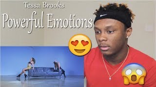 Tessa Brooks - Powerful Emotions (Song) feat. Erika Costell (Official Music Video) REACTION!