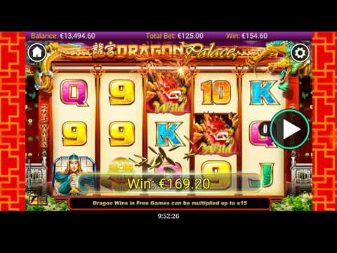 DRAGON PALACE 14.000 € Big Win FREE GAMES ×3  Mobile Slot