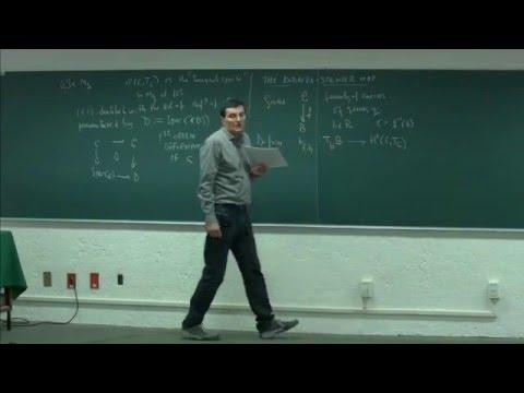 Algebraic Curves and their moduli spaces. Session 4