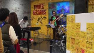 [ ADAM at ] 2017.3.11 in-store live @ TOWER RECORDS NU茶屋町店(大阪)