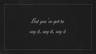 Grand Finalist: Johnny Manuel - Say It (Lyrics Video)   The Voice Australia 2020