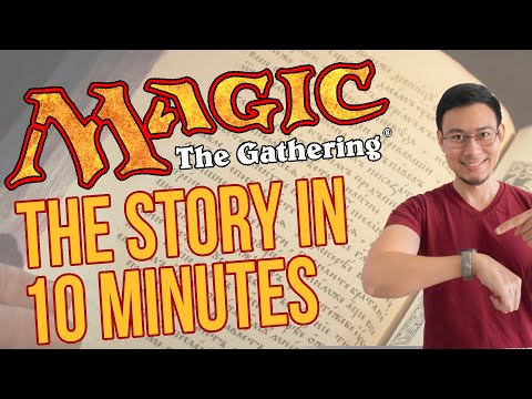 The Entire* Magic the Gathering Story in 10 mins