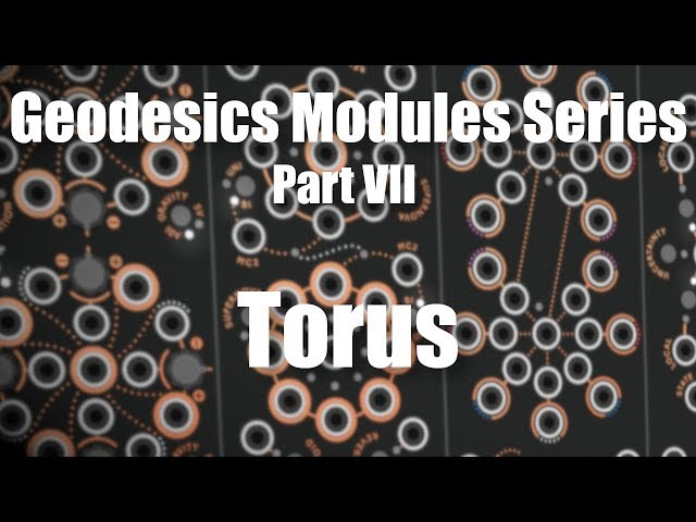 Geodesics Modules Series Part 7 - Torus