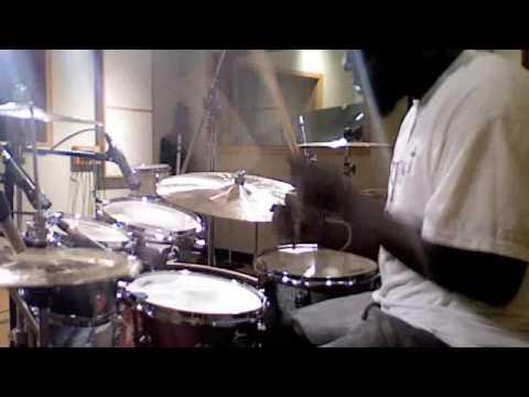 "John ""Pocket"" Powell Playing Soultone Cymbals"