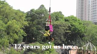After doing our solo bungee jumps, we decided to go for another jump TOGETHER! :)