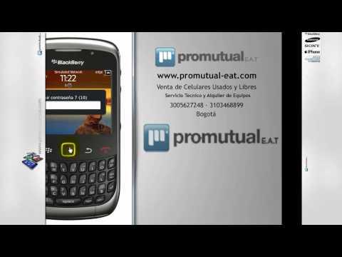 Se me olvido la clave de mi BlackBerry 8520 -- no recuerdo