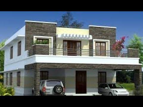 desain lisplang teras rumah minimalis lantai 2 - youtube