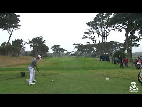 Collin Morikawa's unbelievable drive and eagle on the 16th hole ...
