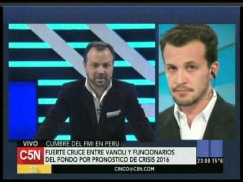 C5N - Minuto Uno: Bercovich en la Cumbre del FMI en Peru