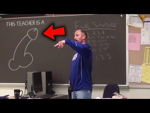 Top 10 Funniest STUDENT PRANKS ON TEACHERS!