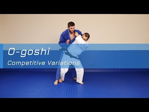 O-goshi - Competitive variations