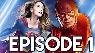 The Flash Season 4 Episode 1 Supergirl 3x01 Arrow & Legends Details Explained