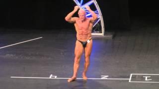 70+ Year Old Bodybuilder at 2014 NPC Dexter Jackson Classic