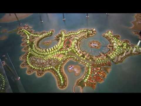 Architectural Model Doha Masterplan