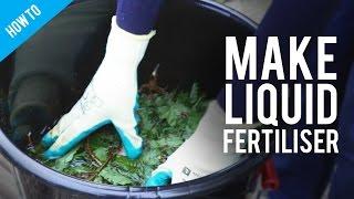 How to make organic garden fertilizer