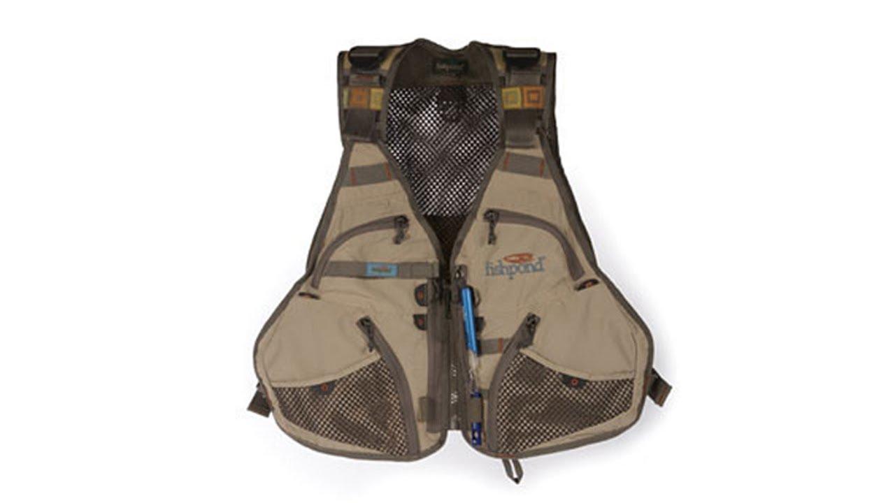 Fishpond Flint Hills Mesh Fly Fishing Vest - YouTube