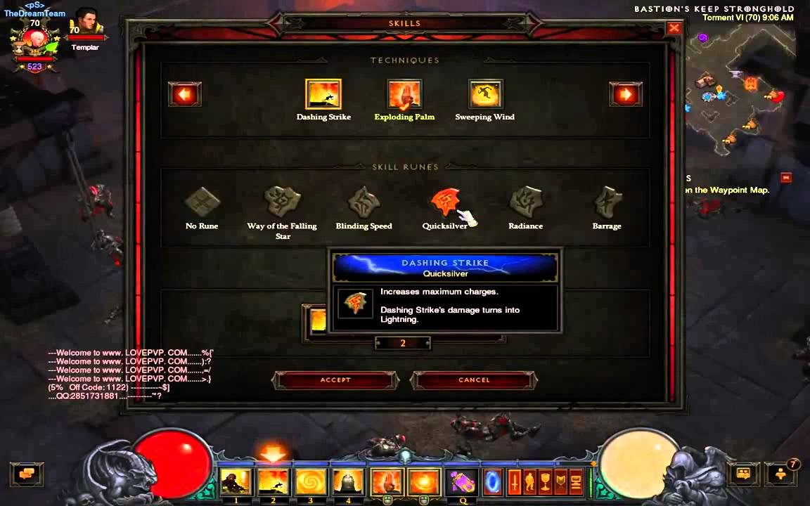 How to fast farm crafting material reusable parts for Diablo 3 crafting items